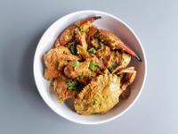 加勒比海椰香咖哩蟹 (澎湖野生石蟹)