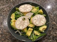 <今天在家吃>奶油起司蓮藕沙拉