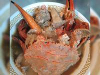 澎湖野生石蟹薑母鴨
