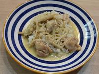 泰式雞肉綠咖哩飯