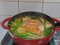 快手版鮮蝦🦐蔬菜🍄叻沙鍋