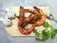 香料奶油煎明蝦(澎湖野生大明蝦)
