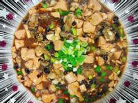 豆鼓鮮蚵炒豆腐