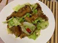 辣味噌炒豬肉定食