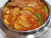 泡菜馬鈴薯排骨湯