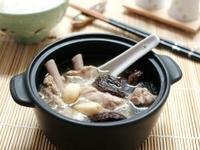 冬天裡的一鍋好湯~蒜頭香菇排骨湯(好菜網)