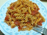 👩🍳簡易版 茄汁雞丁義大利麵