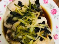 豆豉蒸司目魚(電鍋料理)家常菜