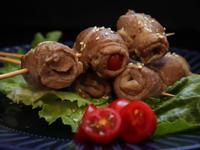 壽喜燒番茄豬肉串