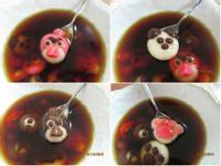 可愛的造型動物湯圓自己DIY