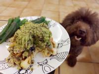 【香氣濃郁💕口感綿密】酪梨蘑菇鬆餅2