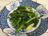麻油炒皇宮菜