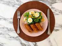 鮭魚白腰豆可樂餅 Croquettes