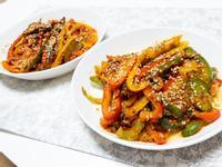 韓式辣椒醬/大醬涼拌甜椒