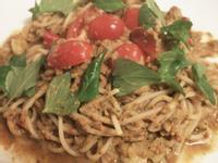 My Oliver Kitchen:【香辣番茄鯖魚義大利麵】