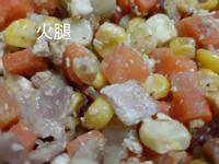 火腿红萝卜炒雞蛋