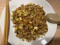 馬鈴薯香菇火腿蛋炒飯