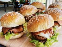 煙燻豬肉漢堡