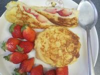 《草莓就愛鷹牌煉奶》♥ 草莓煉奶口袋法國吐司
