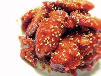 《韓式調味炸雞》---甜甜微辣真好吃