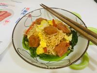 新餐肉蔬食炒泡麵-奶蛋素