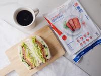 早餐吃新餐肉 - 餐肉三明治