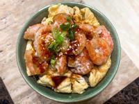 日式醬燒蝦仁飯