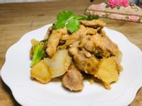 馬鈴薯洋蔥燒雞腿