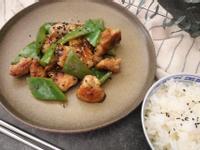山葵醬汁炒雞肉青椒