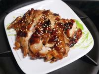 蜜汁雞腿排(李錦記蜜汁烤肉醬)