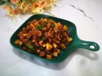黑椒牛排炒杏鮑菇