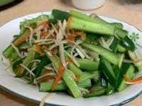 零失敗料理——杏鮑菇炒小黃瓜