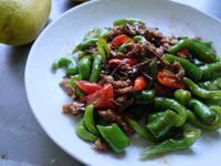 好下飯便當料理:肉末小魚乾炒青龍椒糯米椒