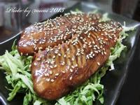 [萬家香大吟釀薄鹽醬油]蒲燒魚片