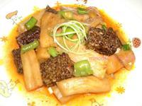 紅燒茄椒米血糕