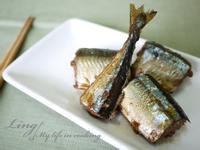 日式♪「萬家香大吟釀薄鹽醬油」佃煮秋刀魚