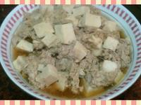 蒸絞肉凍豆腐