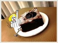 濃厚「法式巧克力蛋糕」