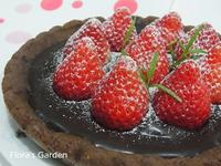 《草莓就愛鷹牌煉奶》草莓甘那許巧克力塔
