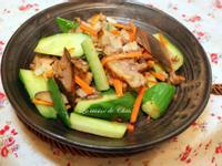 [深夜食堂] 快炒燻豬肉&小黃瓜
