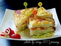 焗烤鮪魚沙拉三明治