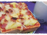 夏威夷吐司披薩