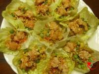 金玉滿堂蘋果蝦(兩吃)