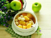 薑汁蕃薯丸子(小湯圓) 糖水 ~ 甘甜滋潤
