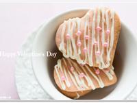 [矽谷美味人妻]情人節巧克力粉紅餅乾
