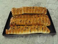 毛毛蟲肉鬆麵包