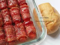 【Take a bread!創意三明治、麵包早餐】美式蜜糖培根熱狗