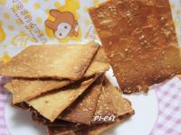 杏仁芝麻薄餅