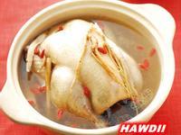 【年菜湯品】蔘鬚燉雞湯
