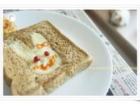 [創意早餐] 兔子吐司